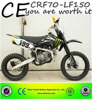 Hot sell CE good quality oil cooled 150cc gas dirt bike