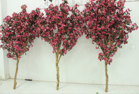 High quanlity 6ft pink artificial cherry blossom branches for sale wedding centrepiece decoration silk cherry blossom branch