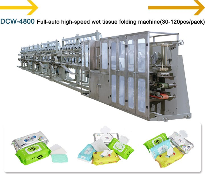 High quality good price Baby Wipes manufacturing Machine (30-120pcs/pack)  wet wipes making machine CE passed, View Hi-speed and capacity wipes