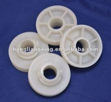 Small plastic round belt pulley for machine