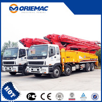 SANY 23m Truck-mounted Concrete Pump road aggregate