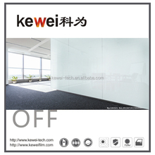 PDLC Self-adhesive window film,smart pdlc film,smart film switchable for office