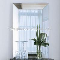 customized Frameless beveled edge Wall Mirror