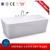 2016 Cheap freestanding whirlpool massage bathtub for fat people
