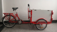 The ice trike for sale/street vending tricycle for sale/food tricycle