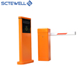 smart car parking system RFID parking lot management system with ticket machine and barriers