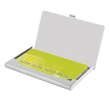 SZT0083 pocket stainless steel metal business card holder case ID credit wallet