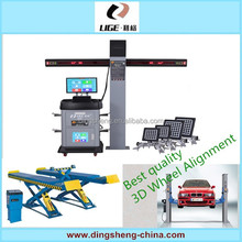 MILLER 32''LCD multi-language garage 3d wheel alignment machine price for tyre work shop DS-1