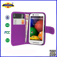 Cell Phone Leather Case For MOTO E