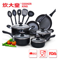 2016 COOKER KING ALUMINUM COOKWARE SET WITH NON-STICKING COATING