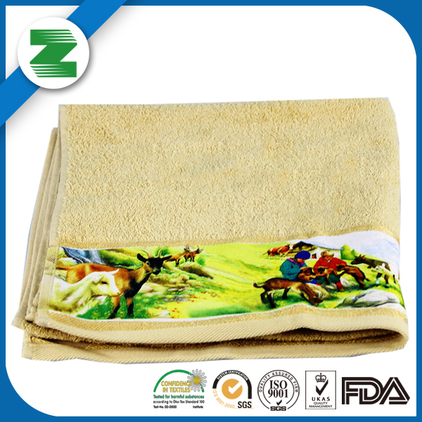 Personalized beautiful promotional hand paper towel