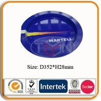 Stylish Round Tin Tray for Food Packaging