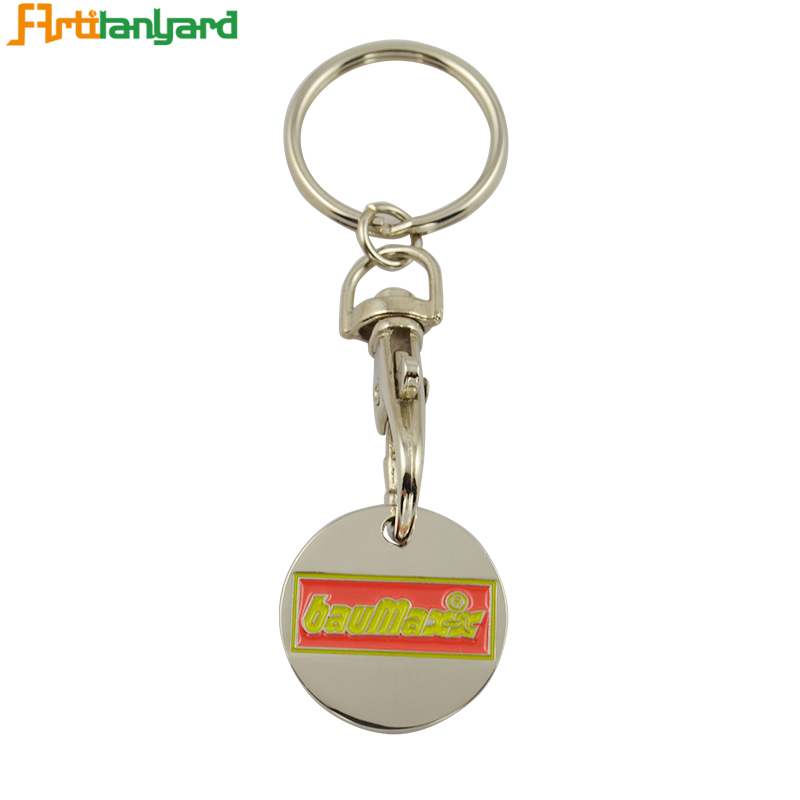 Wholesale Souvenir Coin Holder Keychain for Multiple Keys