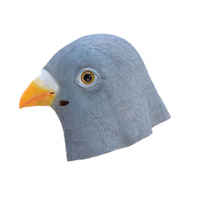 Halloween pigeon/Dove Latex Mask Novelty Costume Party Fancy Dress Animal Masks