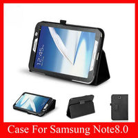 New Tablet Cover With Stand Leather Case for Samsung Galaxy Note 8.0.Galaxy Note Case