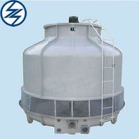 New technology frp cooling tower/fiberglass water circulator/dry cooling tower with good faith 20 years factory