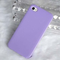 blank colorful phone cover pc case for iphone 4 case
