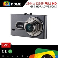 1296P Ambarella A7 front camera for car GPS LDWS FCWS Parking Mode G95