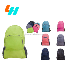 cheap factory directly portable shoulder bag foldable design school backpack