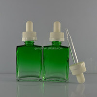 30ml glass bottles gradual change green glass dropper bottle eliquid glass bottle brand