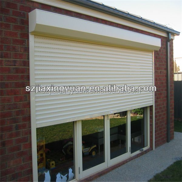 Vertical Automatic Home Security customized roller window for sale
