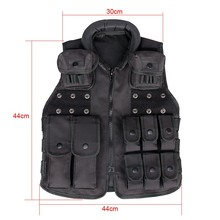 Water safety vest Encryption 600D Oxford Cloth tactical vest fabric for kid