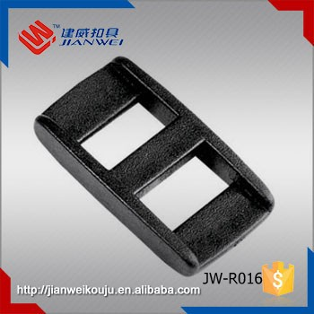 10mm Plastic belt tri-glide adjustable strap buckle sliding buckle JW-R016