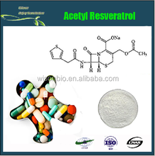 Pure Natural Acetyl Resveratrol Extract Powder ,EX-factory price ,CAS NO.: 42206-94-0