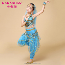Professional Children Girls Belly Dance Wear Suit Costumes