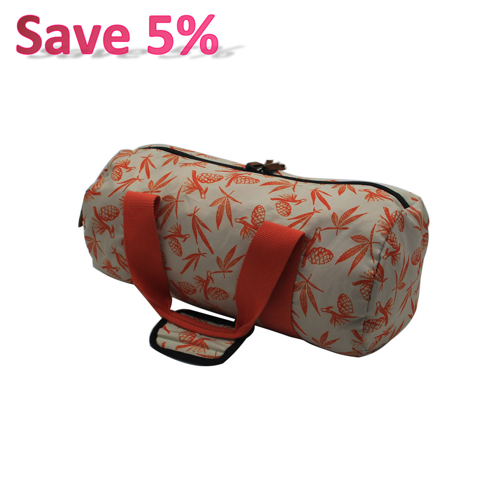 Cheap Price Best Polyester Duffle Bag Sport Luggage Allover Print Travelling Sprots Bag for Gym Travelling Outdoor