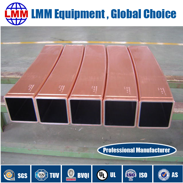 Ccm Mould Assembly Copper Mold Tube Copper Plates Mould Powder And Other Steel Spare Parts
