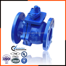 DN150 hard Seated ductile cast iron Ball Valve