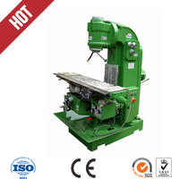 Universal Milling Machine with milling table 3 axis automatic feeding