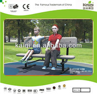 Superior Quality Plastic Long Garden Bench with Multi-color for Choice
