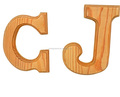 SA8000 BSCI FSC Shop&Home Decoration Wooden Letters