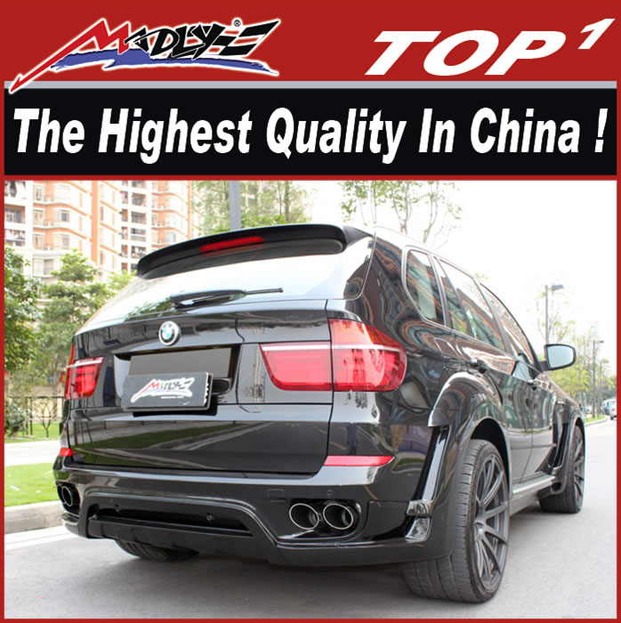 Bodykit for BMW X5 2007-2014 wide body dual muffler HMV style