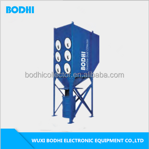 Central fume/smoke extraction equipment cartridge dust collectors system