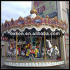attractive amusement equipment park rides for outdoor playground/carousel horse