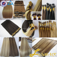 Alibaba Express Brazilian Human Hair Full cuticles Remy 10A Straight Flat Tip Hair Extension