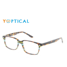 Wholesale Eye wonder Men Fancy Eyewear Acetate Glasses Optic Frame CH1169