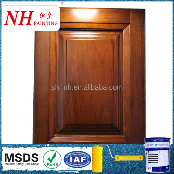 PU scratch resistant two components furniture coating