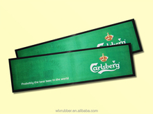 Factory supply promotional customized rubber bar counter mat