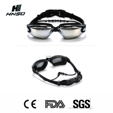Comfortable Silicone Swimming Goggle with Anti-Fog Lens