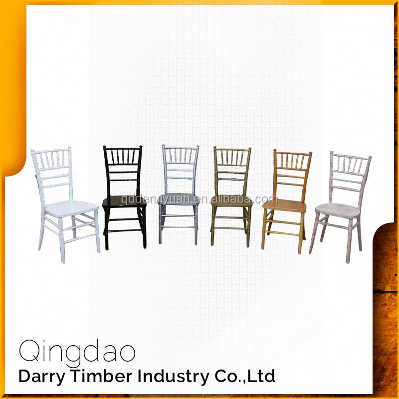 Direct From Factory Banquet Steel Chiavari Wedding Chair