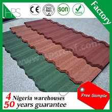 Guazhou building material high quality stone coated roofing tile, steel plate,colorful asphalt roofing sheet