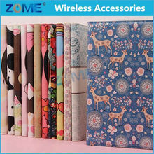 Wholesale Alibaba Mobile Phone Wallet Cases For IPad Air Hot Press Flip Cartoon Leather Case/Cover