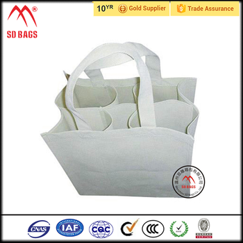 Non-woven 4 bottle wine bag,non woven reusable wine carry bag,manufacture logo non woven wine bottle bag