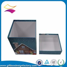 Custom new design color printed box for packaging and printing