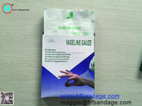 High quality medical OEM sterile paraffine gauze
