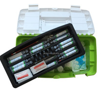 234pcs contents plastic home first aid box